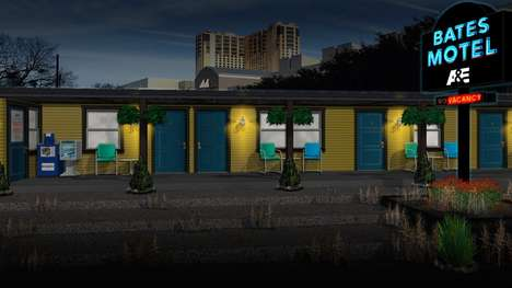 Movie Motel Recreations - Attendees Will Be Able to Visit A&E's Bates Motel at SXSW 2015