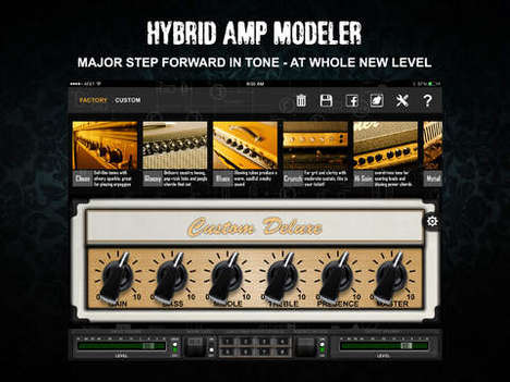Digital Music Amplifiers - Positive Grid Lets Musicians Build Their Perfect Amp on a Mobile Device