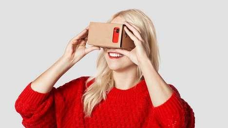 Virtual Reality Parties - The Google Cardboard SXSW Party Creates a Space for Virtual Fun