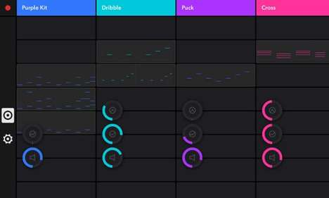 Beat-Making Apps - Auxy for iPad Provides a Digital Mobile Space to Create Electronic Music