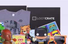 Gamer Subscription Services - Loot Crate Delivers Monthly Boxes of Geeky Swag of Video Game Lovers