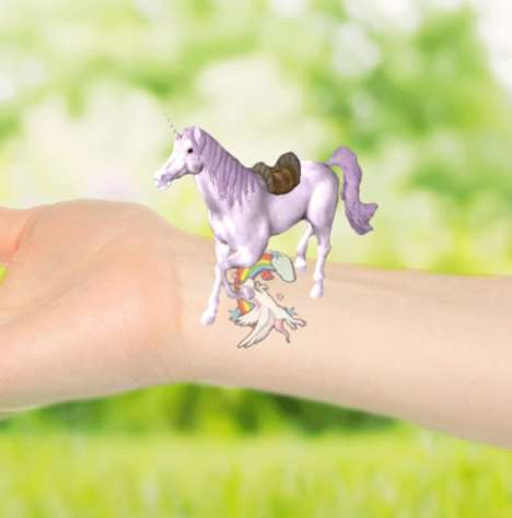 Digital Temporary Tattoos - 'Magic Tattoos' Come to Life with the Scan of Your Smart Phone