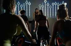 Data-Driven Cycling Classes - The Pursuit by Equinox is a New High Tech Workout Debuting at SXSW