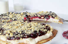 Blueberry Dessert Pizzas - Amanda of I Am Baker Creates a Decadent and Fun Treat