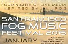 Fog-Inspired Music Events - This California Festival Features Low-Lying Clouds as a Muse