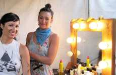 Bohemian Styling Stations - Coachella's Beauty Bar Provides a Place to Get Photo-Ready for Free