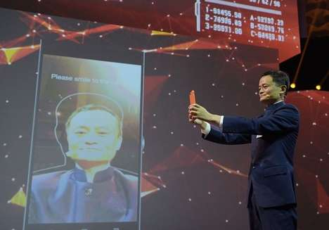 Face Recognition Payment Tools - Alibaba's 'Smile To Pay' Lets You Pay Via Face Scan