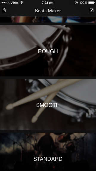 Mobile Drummer Apps - The Beats Maker App Puts Percussion Sounds at Your Fingertips