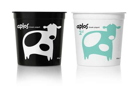 Subtle Dairy Branding