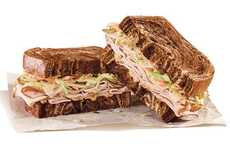 Lean Deli Sandwiches - Arby's Classic Reuben is Updated with a New Turkey Sandwich Called the Rachel