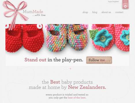 Handmade Childrenswear Shops - MumMade is an Online Baby Shop for Handmade Goods