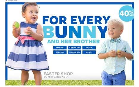 Vibrant Kinder E-Retailers
