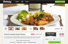 Social Media Supper Hosts - Cookening Brings Strangers Together to Eat Dinner at the Same Table