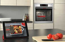 Hyperconnected Ovens - The Electrolux Smart Oven's Camera Lets You See Dishes Cooking Via Smartphone
