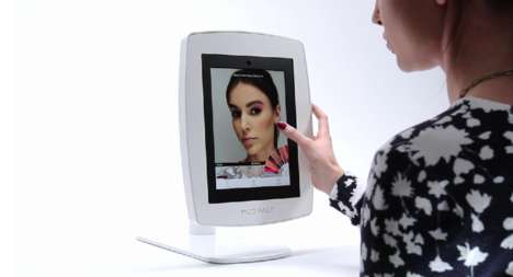 Augmented Makeup Mirrors