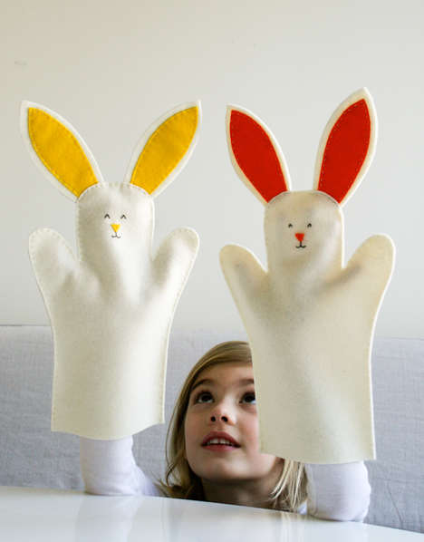 Adorable Easter Puppets
