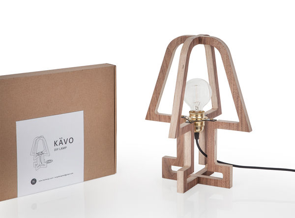 Flat Packed Lamps