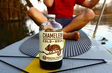 Exotic Iced Coffee - Chameleon Cold-Brew Infuses Its Cold Coffee Bottles with Exciting Flavors