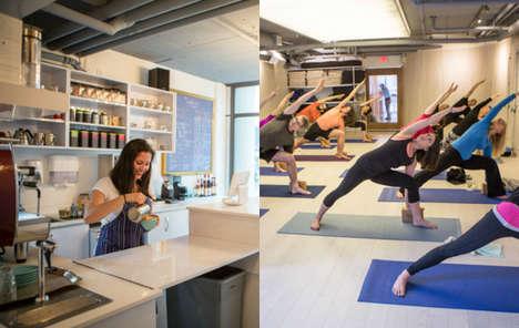 Hybrid Yoga Cafes