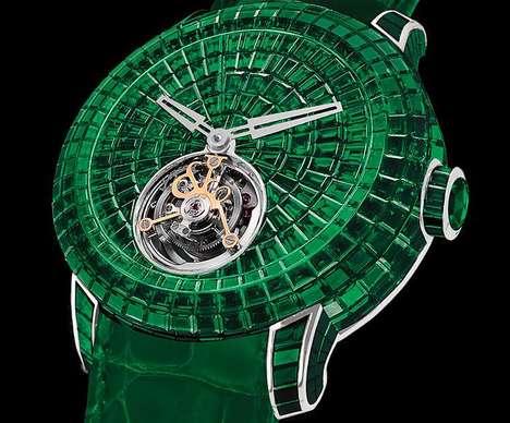 Elegant Emerald Watches