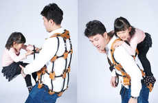 Jungle Gym Vests - The Athletitti Athletic Vest Turns Parents into Mobile Playrounds