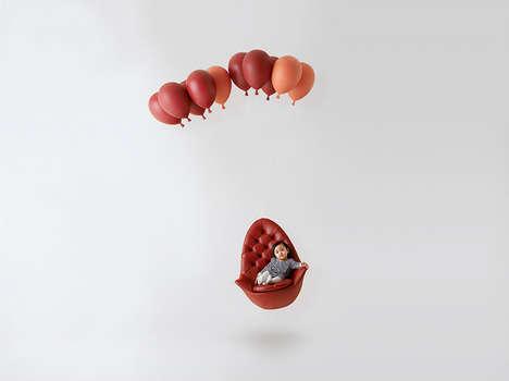 Whimsical Balloon Seating