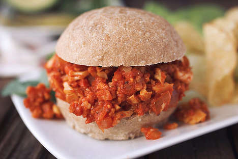 Alternative Cauliflower Sandwiches - The Vegan Sloppy Joes are Gluten-Free & Free of Most Allergens
