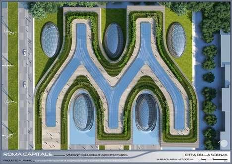 Futuristic Roman Eco Cities