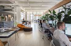 Casual Upscale Workplaces - The New INC Architecture Design Nyc Office Was Designed by the Firm