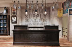 Americana Retail Shops - The New Denim & Supply Ralph Lauren Storefront in Hamburg is Huge