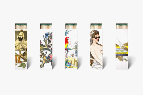 Surrealist Scented Matches