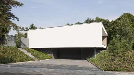 Luminous Boxlike Houses