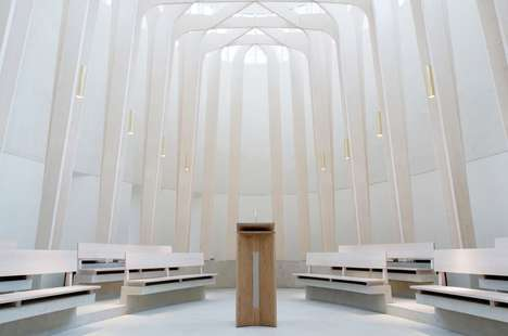 Evocative Whiteout Chapels