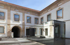 Palatial Baroque Museums - The New Cultural House of Pinhel is a Stunning Revamped Palace