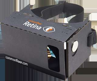 Property-Exploring Headsets - This Cardboard VR Headset is Bringing Virtual Reality to Real Estate