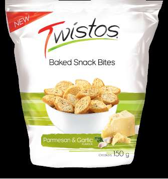 Twisted Baked Snacks