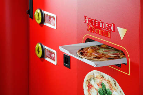 Fresh Food Vending Machines - Let's Pizza Makes 100 Different Variations from Scratch