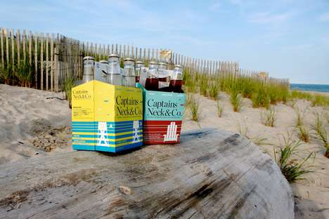 Healthy Craft Soda - Captains Neck & Co Produces Low Calorie, All-Natural Craft Sodas