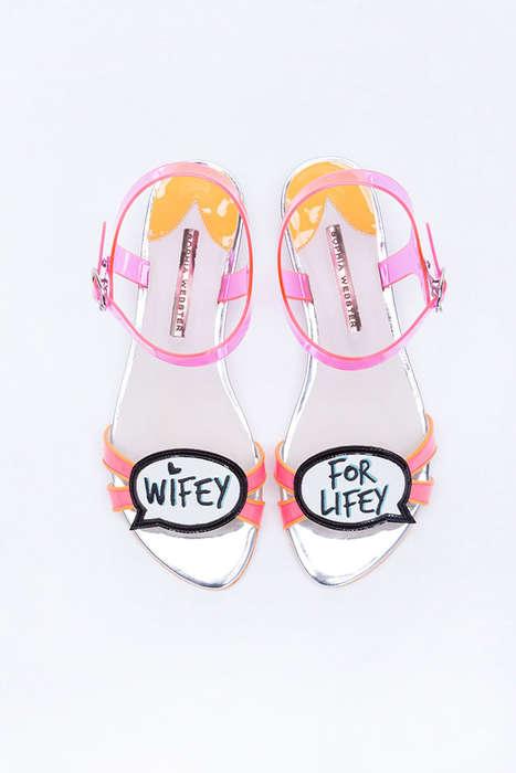 Playful Matrimony Footwear