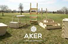 Backyard Farming Kits - AKER Supplies Homeowners with a Complete Set of Urban Farming Equipment