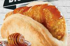 Mexican-Inspired Biscuit Meals - The Latest Taco Bell Breakfast is Topped with Jalapeno Honey Sauce