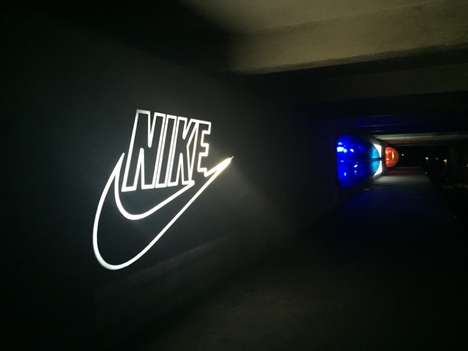 Retrospective Sneaker Installations - The Annual Nike Air Max Day Kicks Off with a Subway Exhibit