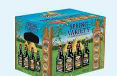 Frolicsome Seasonal Ales - This Spring Beer Pack Offers a Selection of Crisp Springtime Brews