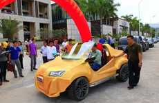 Inexpensive 3D-Printed Cars - Sanya Sihai's Printed Car Exemplifies Affordable Transportation
