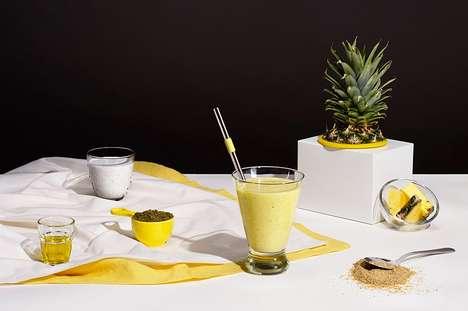 Energy-Boosting Blended Beverages