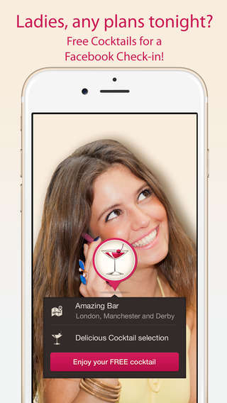 Female-Focused Drinking Apps - Drinki Trades Social Check-Ins for Complimentary Drinks