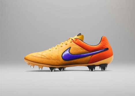 Fiery Soccer Shoes