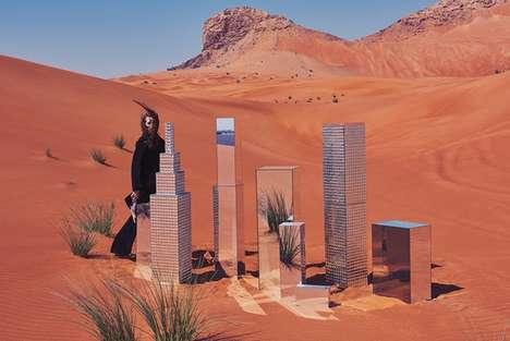 Artistic Desert Photoshoots