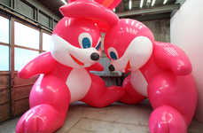 Inflatable Art Showcases - The Traveling BLOW UP Show is a Selection of Inflatable Contemporary Art
