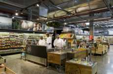 Theatrical Grocery Markets - Woolworths Food Embraces a Design That Shows Behind the Scenes Action